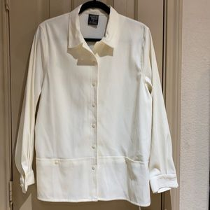 Alison Daley button down shirt.